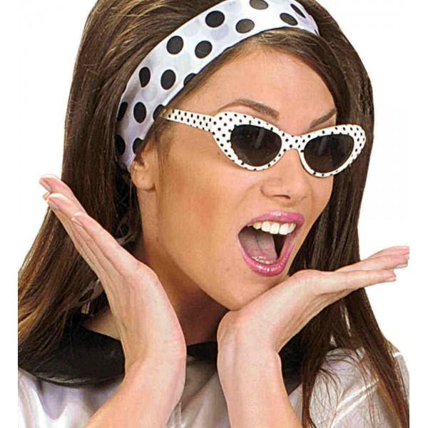 Γυαλιά 50's πουά