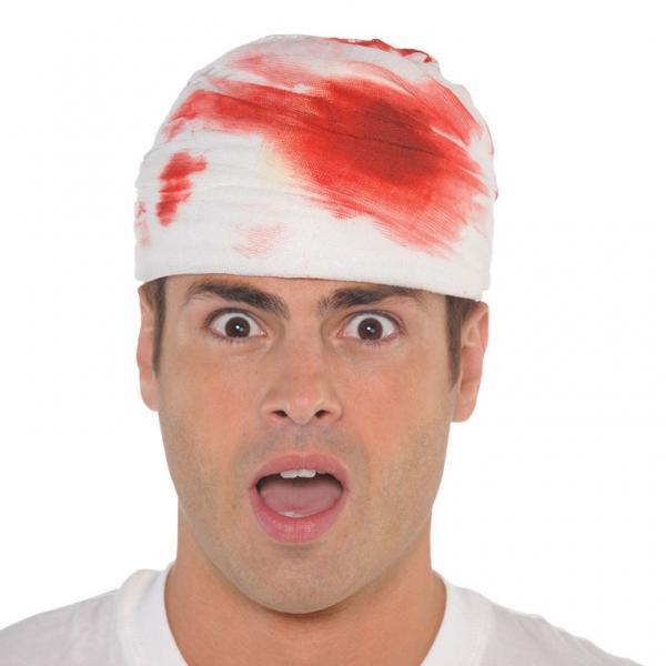 Καπέλο Ματωμένος Επίδεσμος Ενηλίκων