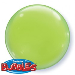 Bubble Solid Colour Lime Green -4 τεμ