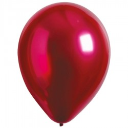 Latex Balloons 28 εκ Satin Luxe Pomgranate - 50 pcs