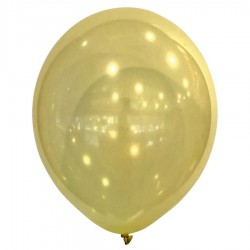 Latex Balloons Decorator Droplets Yellow 27.5 cm  100 pcs