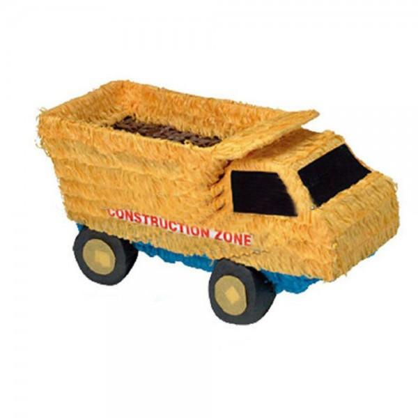 Πινιάτα Τρισδιάστατη Φορτηγό κίτρινο  af4ea4b2d68