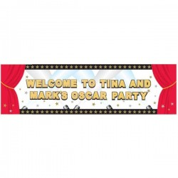 Banner Giant Hollywood Personalize 50x165 εκ